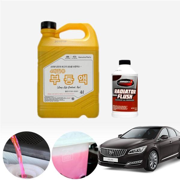 아슬란 3.0/3.3(가솔린) 순정부동액 플러싱 세트 cs01054