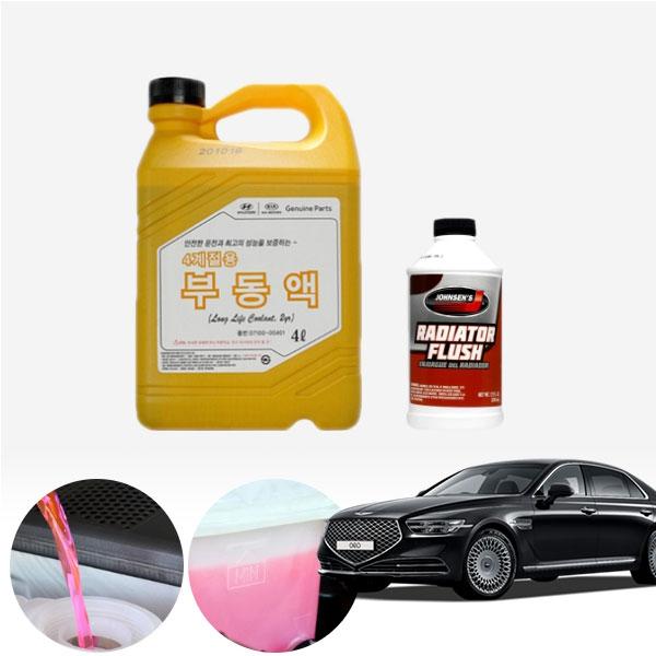 제네시스G90 3.3/3.8(가솔린) 순정부동액 플러싱 세트 cs01077
