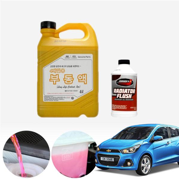 스파크(더넥스트)(15~) 1.0(가솔린) 순정부동액 플러싱 세트 cs03033