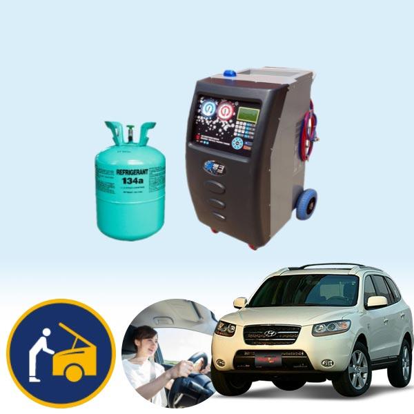 싼타페CM(05~12) 2.7(LPI)(가솔린) 에어컨가스 134a 충전 KPT-078 cs01040
