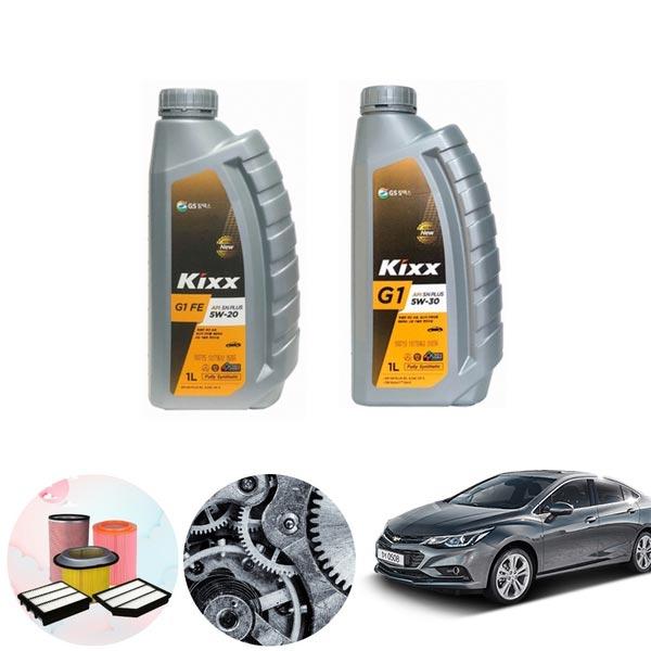 크루즈(올뉴) 1.4(가솔린) 킥스G1 엔진오일 필터세트 KPT-111 cs03036