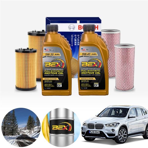 BMW (16-20) X1 F48 20d (B47) BEX 수입차용 합성엔진오일 필터세트 ONL-011 cs06040