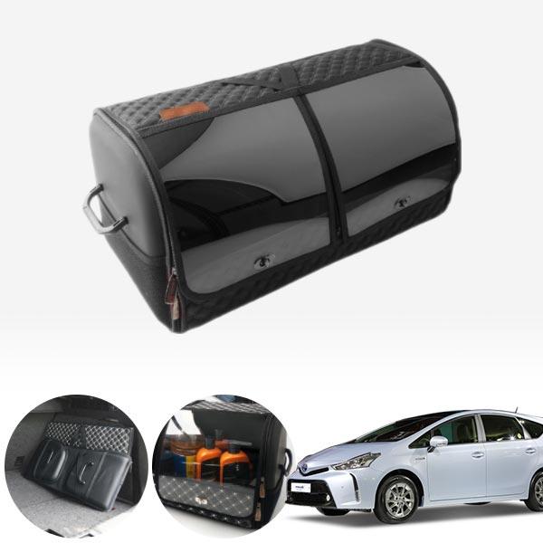 프리우스V(15~) 창문형 누빔 레더 럭셔리 트렁크정리함 PAB-0593 cs14024 차량용품
