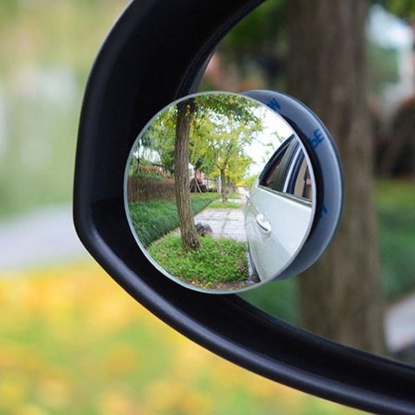 전차종공용' 자동차 사각지대 볼록 미러 주차 보조거울 2개(1set) PCO-5487572722 cs41001 차량용품