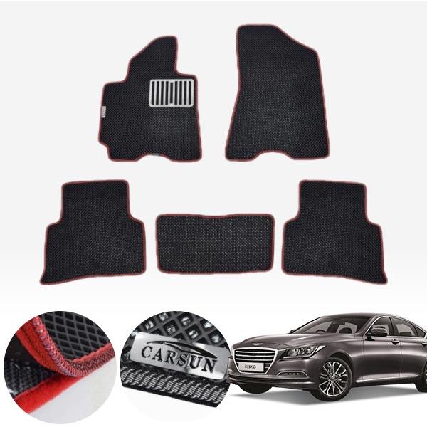 제네시스DH   2륜/4륜 서프라이즈 이중매트 1열+2열 PCS-2189 cs01056 차량용품
