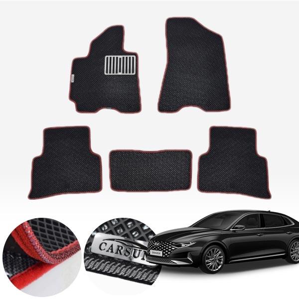 더뉴그랜져IG F/L차량 서프라이즈 이중매트 1열+2열 PCS-2189 cs01079 차량용품