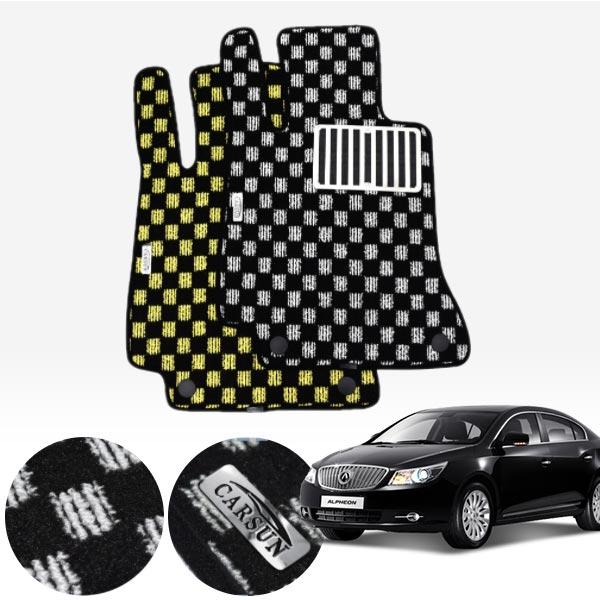 알페온 킹덤 카펫 매트 1열만 PCS-2243 cs03022 차량용품