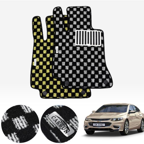 올뉴말리부 킹덤 카펫 매트 1열만 PCS-2243 cs03035 차량용품