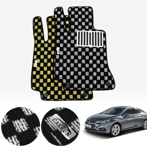 올뉴크루즈 킹덤 카펫 매트 1열만 PCS-2243 cs03036 차량용품