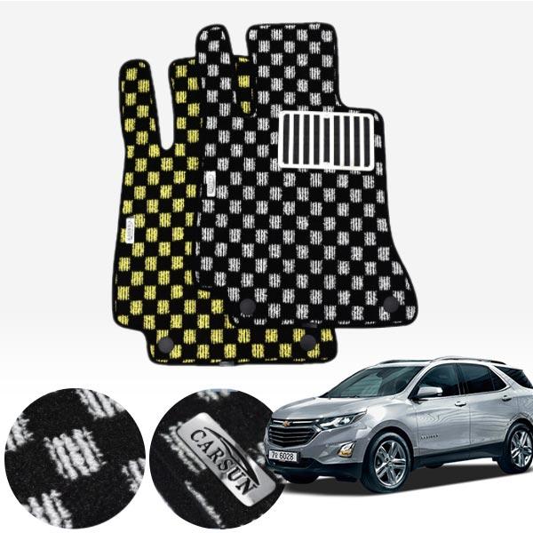 이쿼녹스 킹덤 카펫 매트 1열만 PCS-2243 cs03038 차량용품