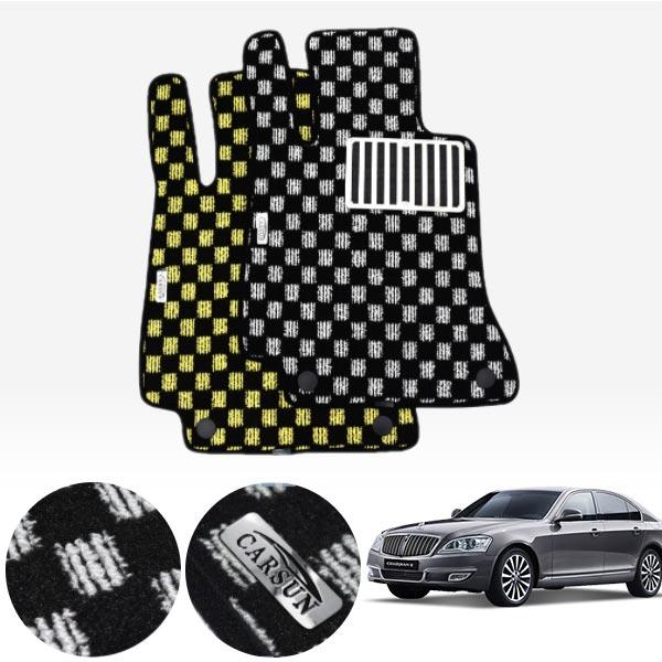 뉴체어맨W 킹덤 카펫 매트 1열만 PCS-2243 cs04011 차량용품