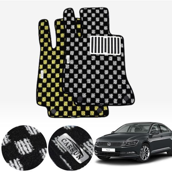 폭스바겐 파사트GT 8세대 / 2018년 킹덤 카펫 매트 1열만 PCS-2243 cs09019 차량용품