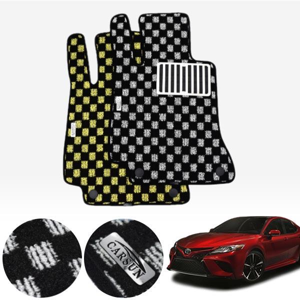 토요타 뉴 캠리 (XV70) 17.10~현재 킹덤 카펫 매트 1열만 PCS-2243 cs14021 차량용품