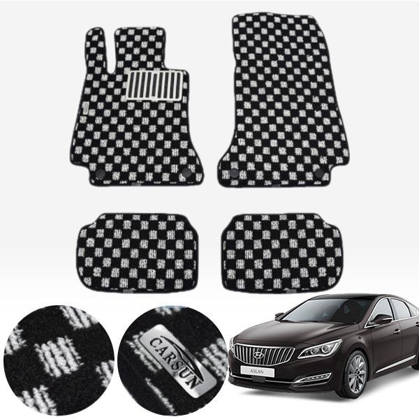 아슬란 킹덤 카펫 매트 1열+2열 PCS-2243 cs01054 차량용품