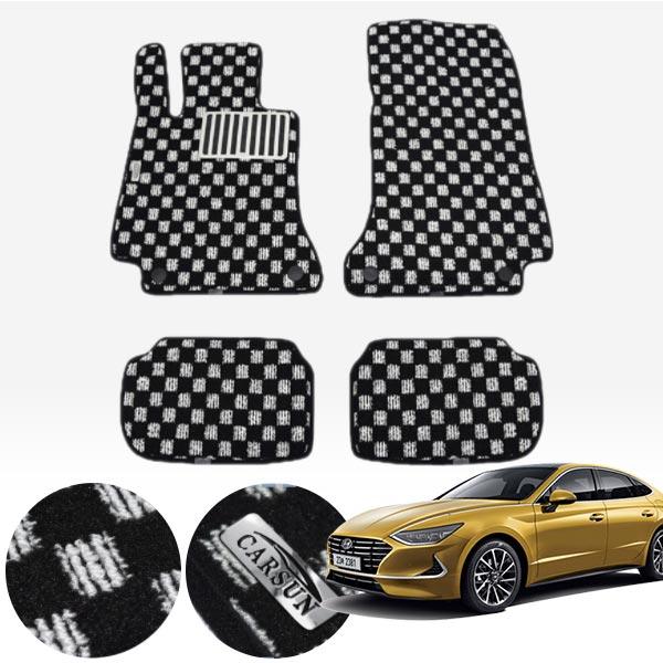 신형 쏘나타 킹덤 카펫 매트 1열+2열 PCS-2243 cs01076 차량용품