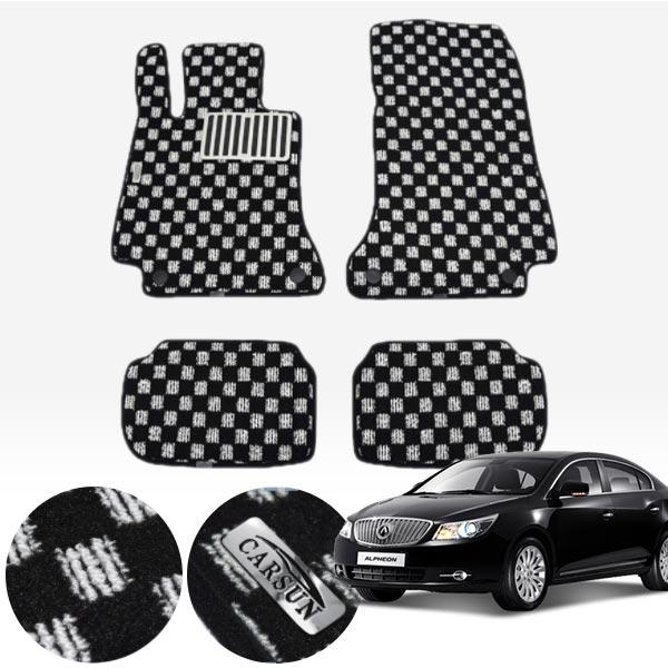 알페온 킹덤 카펫 매트 1열+2열 PCS-2243 cs03022 차량용품