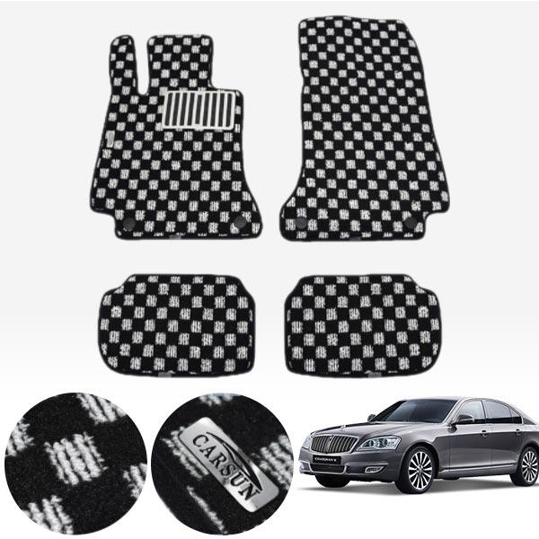뉴체어맨W 킹덤 카펫 매트 1열+2열 PCS-2243 cs04011 차량용품