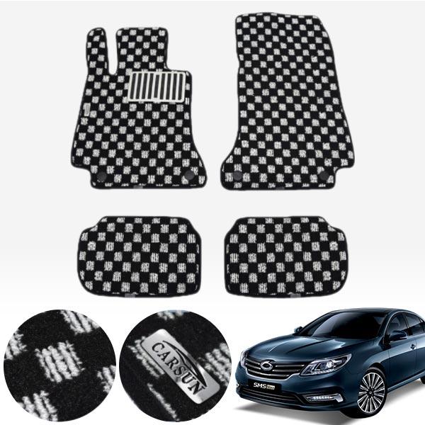 뉴SM5 플레티넘 킹덤 카펫 매트 1열+2열 PCS-2243 cs05011 차량용품