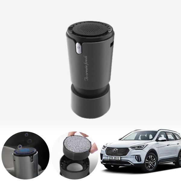맥스크루즈 컵홀더용 헤파 공기청정기 PFT-012 cs01051 차량용품