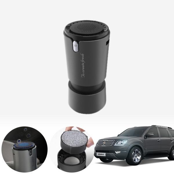 모하비 컵홀더용 헤파 공기청정기 PFT-012 cs02034 차량용품