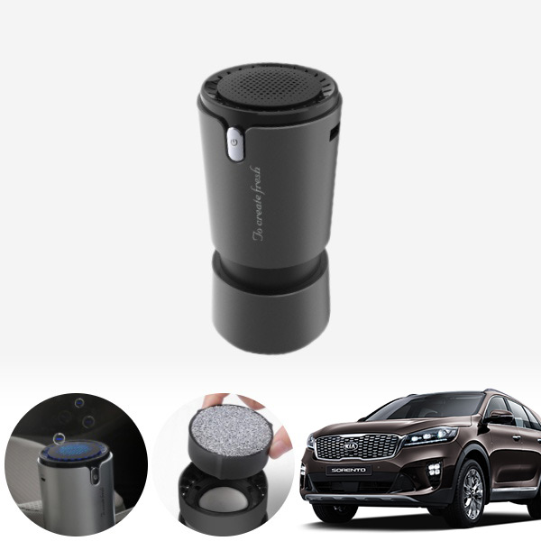 쏘렌토(올뉴)(15~) 컵홀더용 헤파 공기청정기 PFT-012 cs02052 차량용품