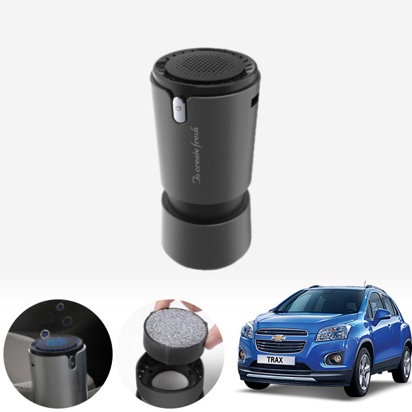 트랙스 컵홀더용 헤파 공기청정기 PFT-012 cs03030 차량용품