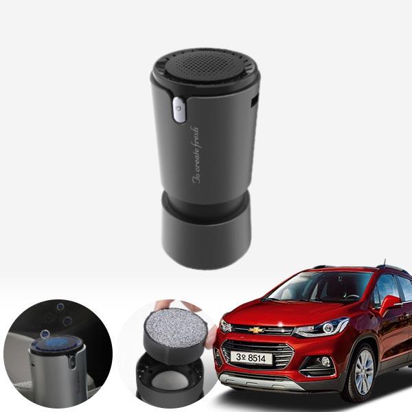 트랙스(더뉴) 컵홀더용 헤파 공기청정기 PFT-012 cs03037 차량용품