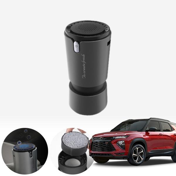 트레일블레이저' 컵홀더용 헤파 공기청정기 PFT-012 cs03043 차량용품