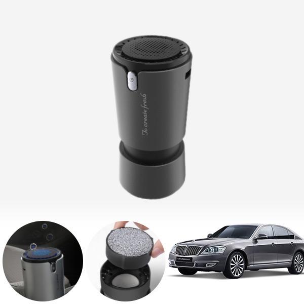 체어맨W(08~) 컵홀더용 헤파 공기청정기 PFT-012 cs04011 차량용품