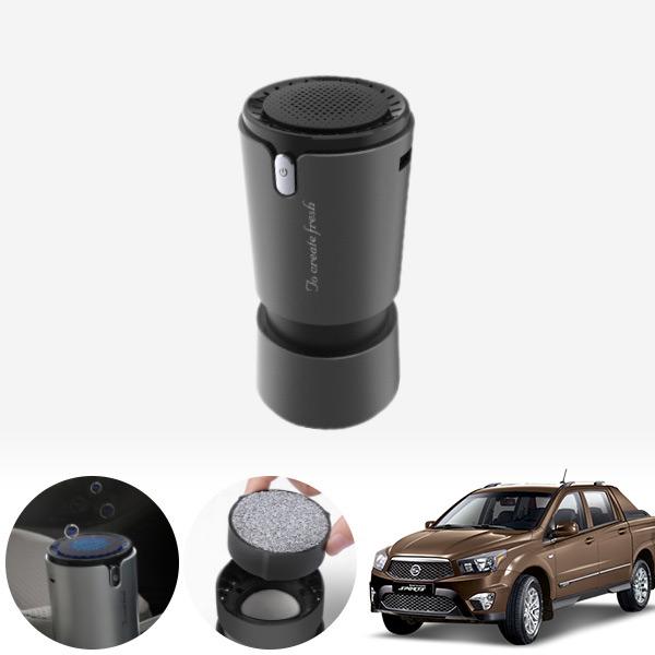 코란도스포츠 컵홀더용 헤파 공기청정기 PFT-012 cs04014 차량용품