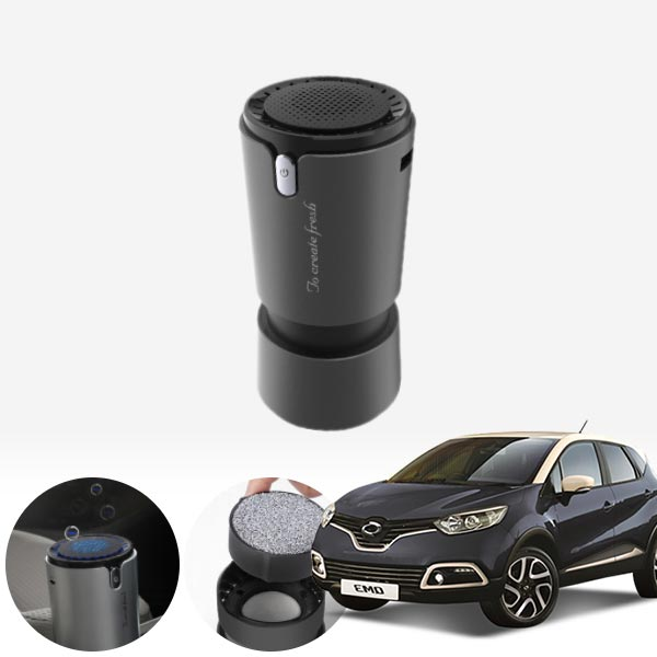 QM3 컵홀더용 헤파 공기청정기 PFT-012 cs05008 차량용품