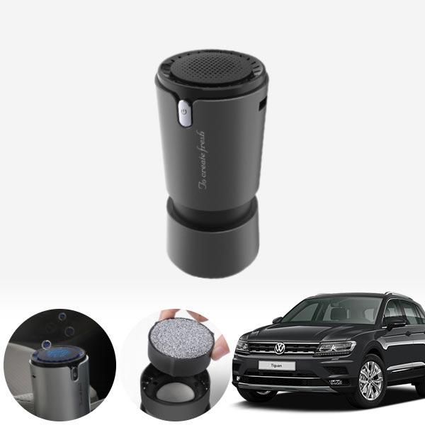 티구안(더뉴)(18~) 컵홀더용 헤파 공기청정기 PFT-012 cs09018 차량용품