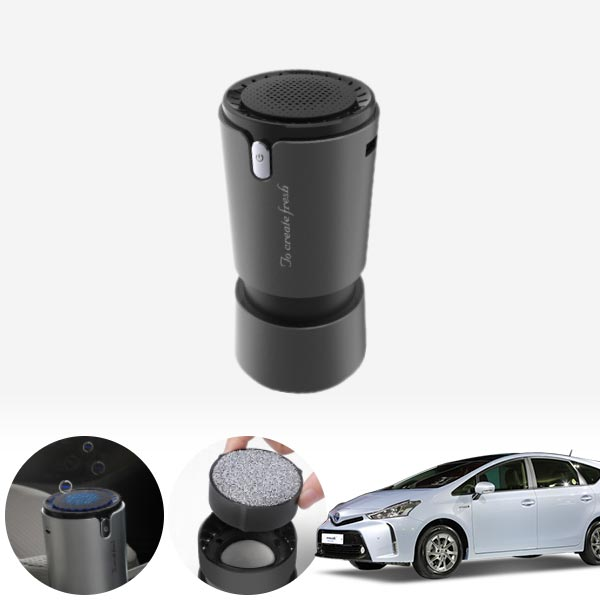 프리우스V(15~) 컵홀더용 헤파 공기청정기 PFT-012 cs14024 차량용품
