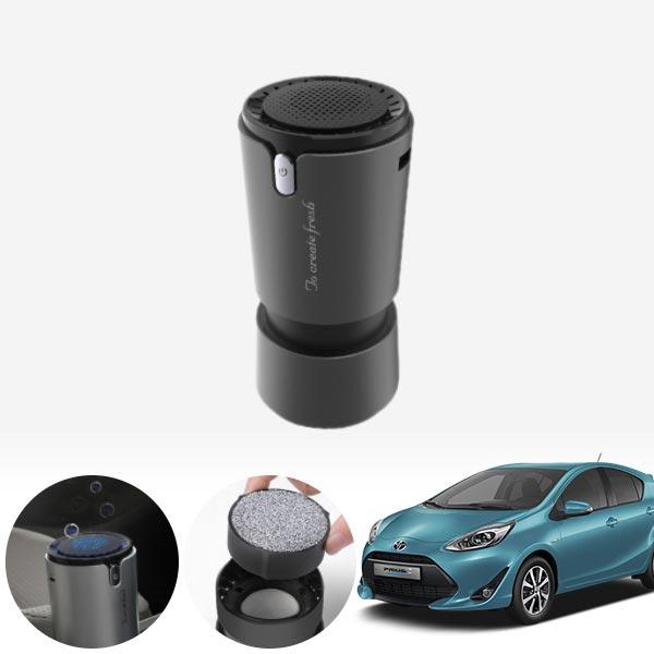프리우스C(18~) 컵홀더용 헤파 공기청정기 PFT-012 cs14025 차량용품