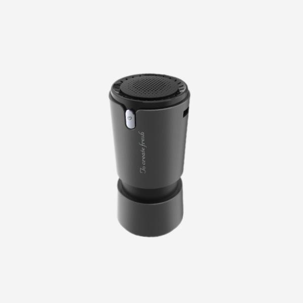 전차종공용' 컵홀더용 헤파 공기청정기 PFT-012 cs41001 차량용품