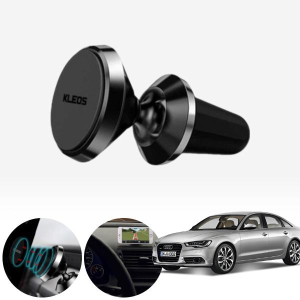A6(C7)(12~) 네오디움 초강력 알루미늄 핸드폰거치대 실버 PKL-103 cs08027 차량용품