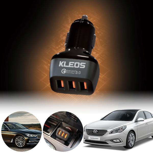 쏘나타(LF)(14~) 3포트 USB급속충전기 cs01052 차량용품