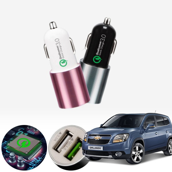 올란도 퀄컴 3.0 급속USB 차량용충전기 PMN-1544578722 cs03026 차량용품