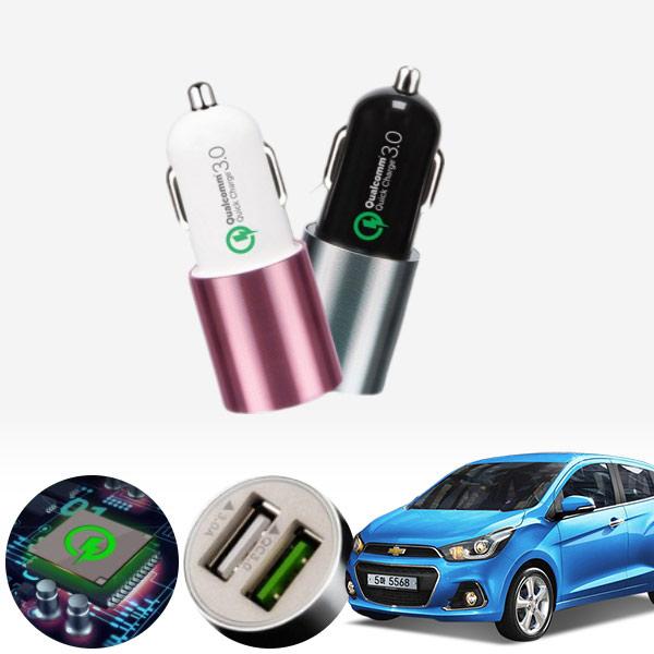 스파크(더넥스트)(15~) 퀄컴 3.0 급속USB 차량용충전기 PMN-1544578722 cs03033 차량용품