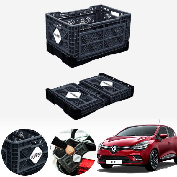 클리오 접이식 트렁크정리함 대형 PMN-1551335364 cs05015 차량용품
