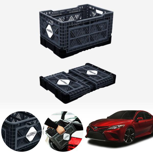 캠리(18~) 접이식 트렁크정리함 대형 PMN-1551335364 cs14021 차량용품