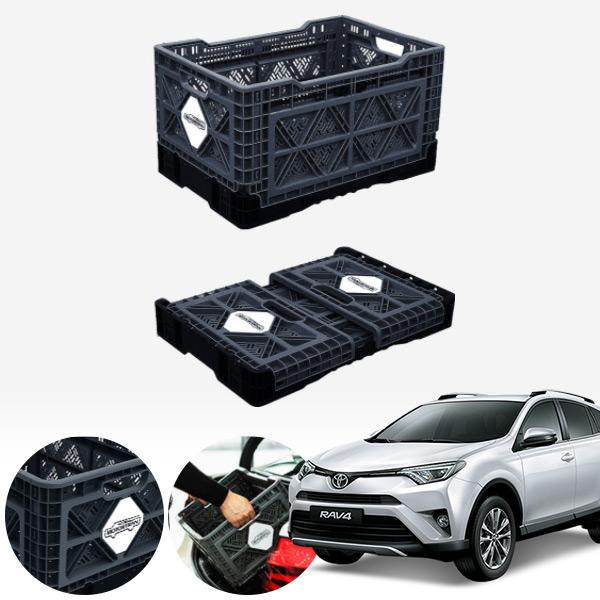 라브4(5세대)(16~) 접이식 트렁크정리함 대형 PMN-1551335364 cs14026 차량용품