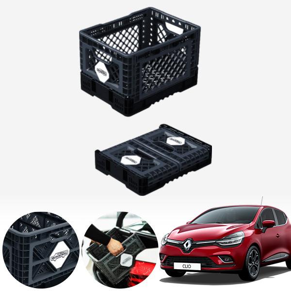 클리오 접이식 트렁크정리함 중형 PMN-1551335364 cs05015 차량용품