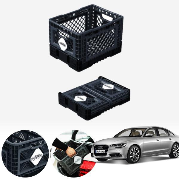A6(C7)(12~) 접이식 트렁크정리함 중형 PMN-1551335364 cs08027 차량용품
