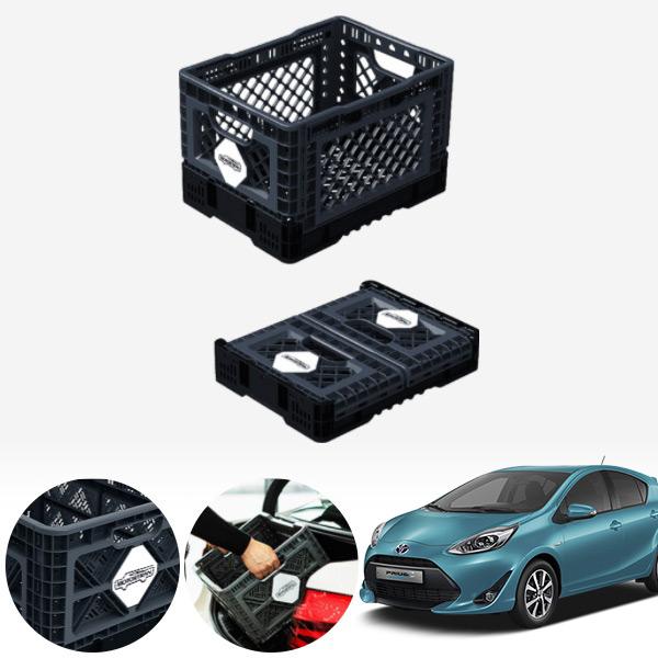 프리우스C(18~) 접이식 트렁크정리함 중형 PMN-1551335364 cs14025 차량용품