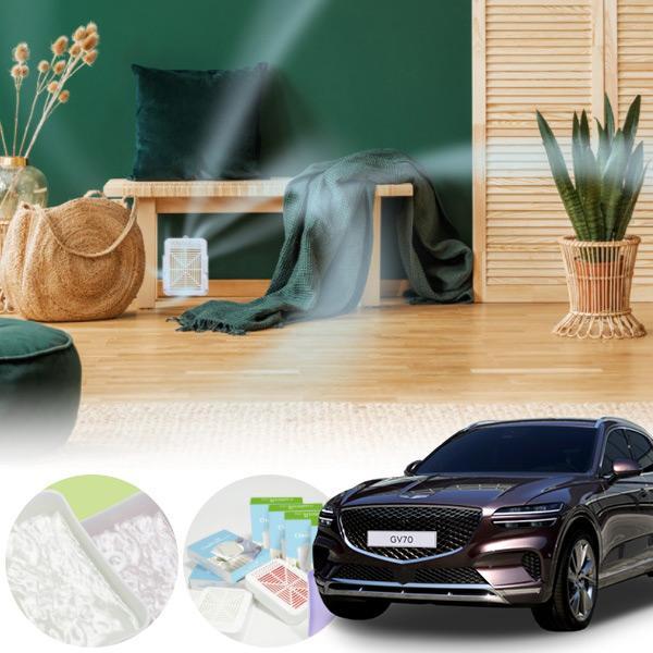 제네시스GV70' 차량용 다목적 천연 탈취제 PMN-1558405685 cs01082 차량용품