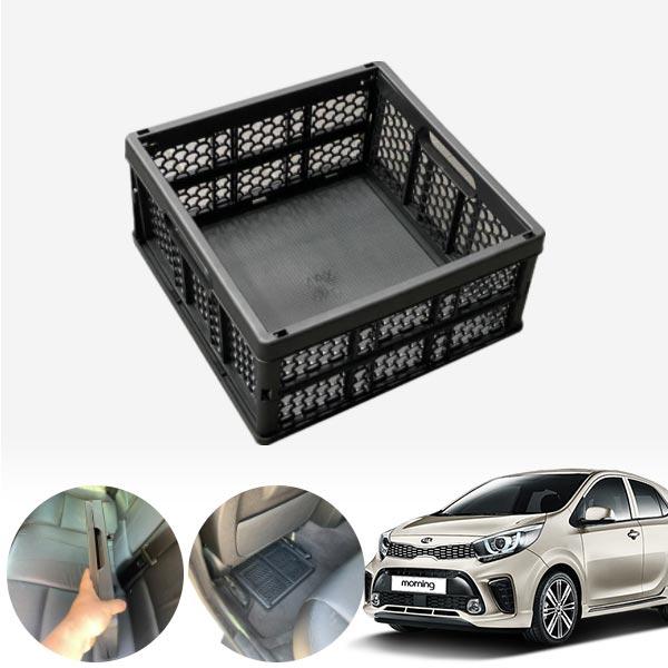 모닝(올뉴)(17~) 모비스순정 접이식 트렁크정리함 차량용품 cs02062