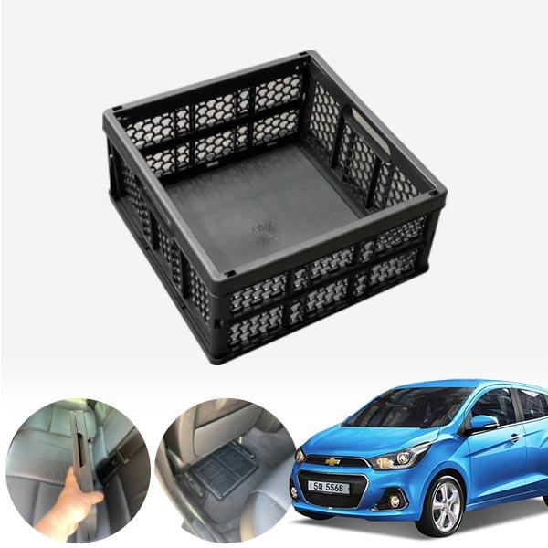 스파크(더넥스트)(15~) 모비스순정 접이식 트렁크정리함 차량용품 cs03033