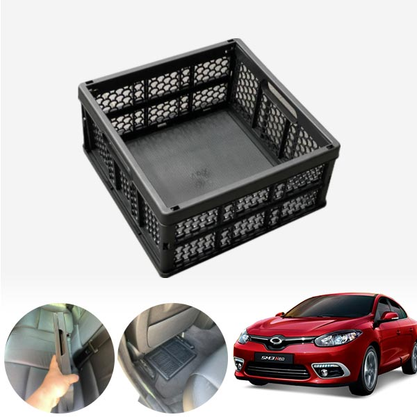 SM3(뉴/네오)(10~) 모비스순정 접이식 트렁크정리함 차량용품 cs05009