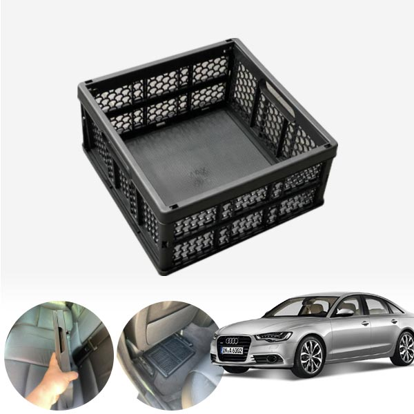A6(C7)(12~) 모비스순정 접이식 트렁크정리함 차량용품 cs08027